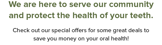 Discovery Dental team special offers for your dental health.