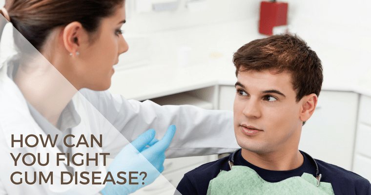 How can you fight gum disease