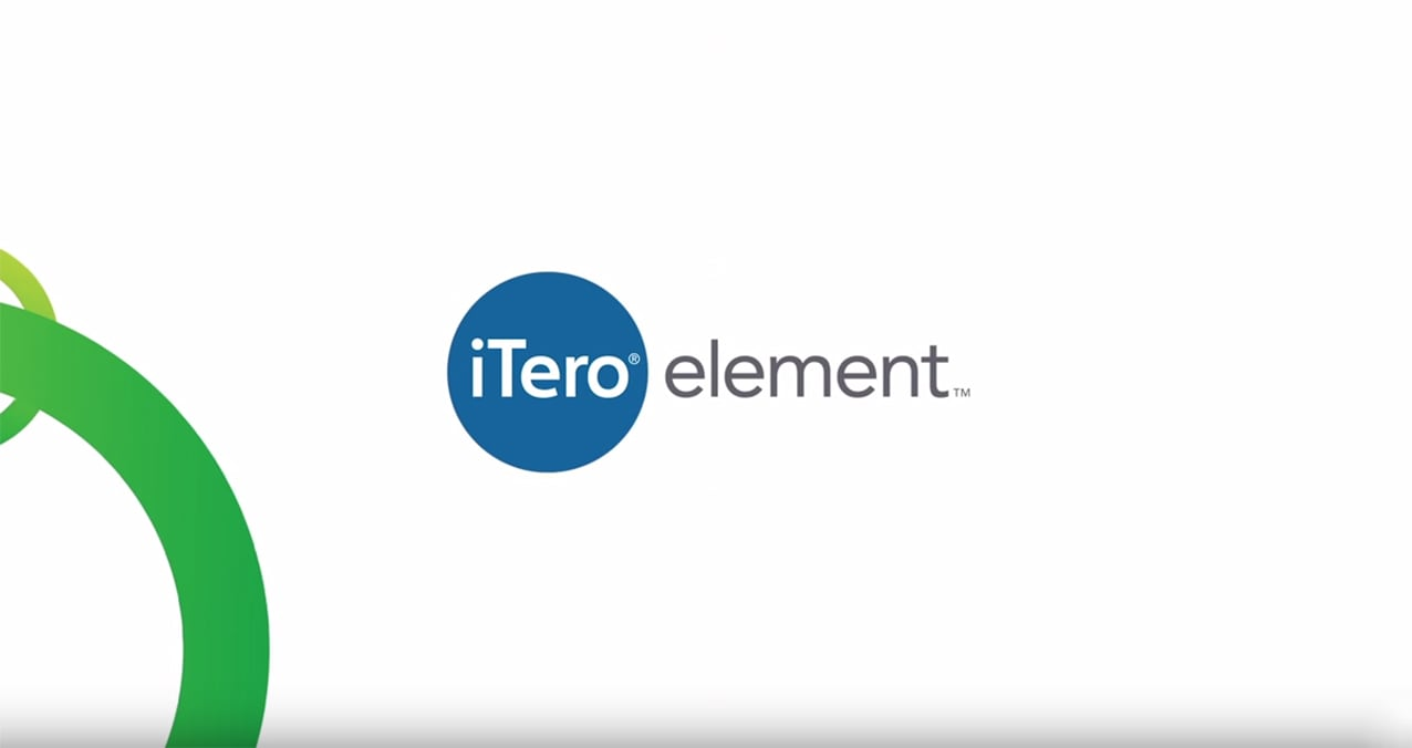 Itero element welcome video slide