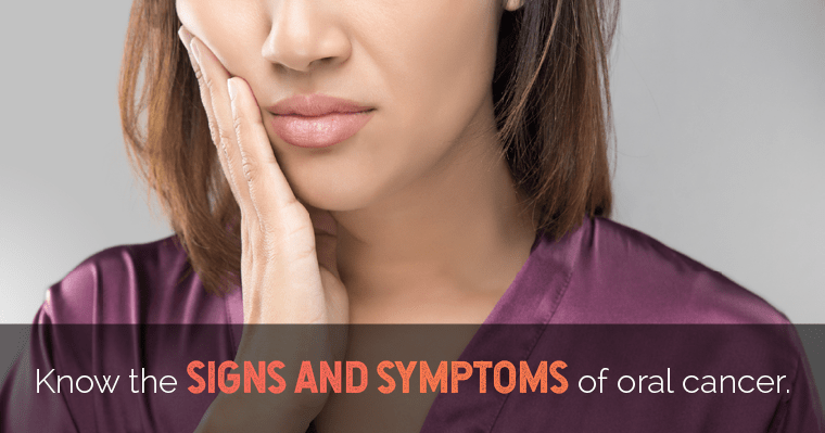 Would you recognize oral cancer? Here are the signs and symptoms to watch for.